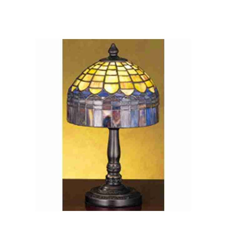 Meyda Tiffany 29485 Stained Glass / Tiffany Accent Table Lamp from the