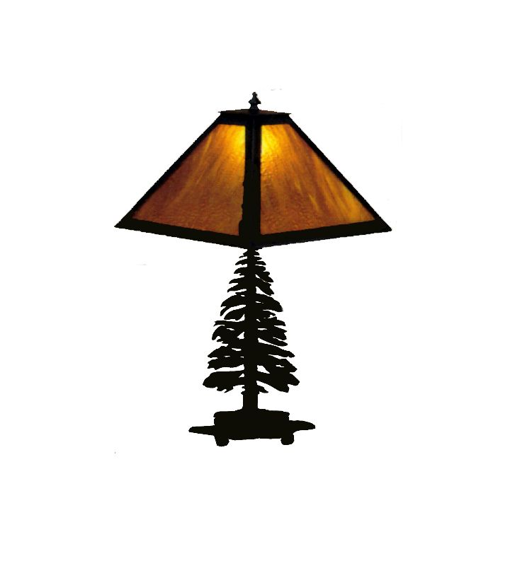 Meyda Tiffany 29572 Table Lamp from the Pine Tree Collection Black / Sale $374.00 ITEM: bci58025 ID#:29572 UPC: 705696295722 :
