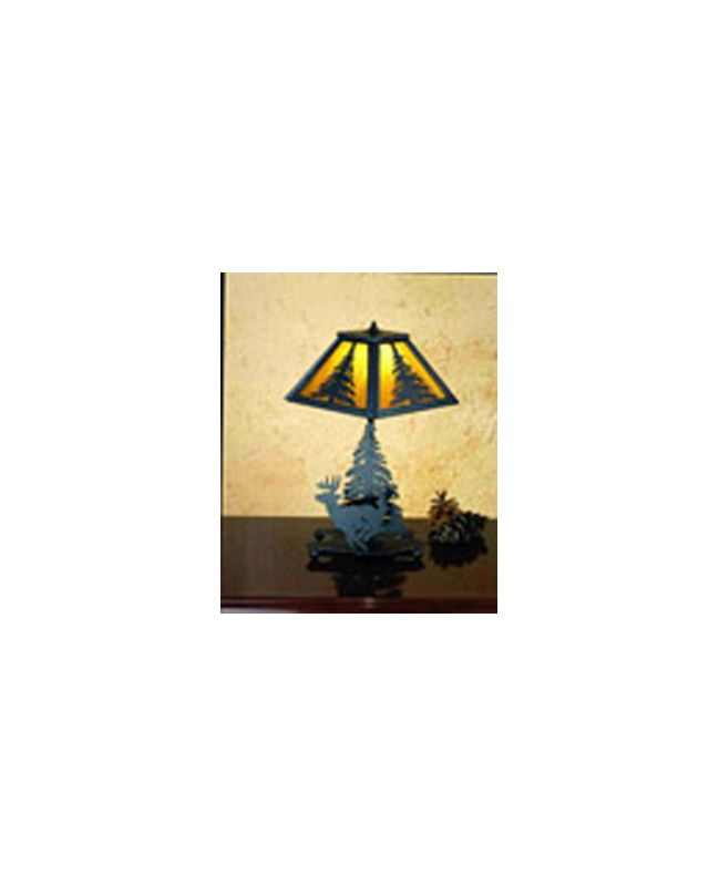 Meyda Tiffany 29577 Accent Table Lamp from the Elks Club Collection