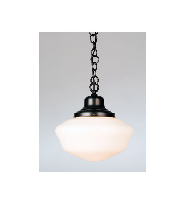 Meyda Tiffany 30223 Single Light Down Lighting Pendant Craftsman Brown