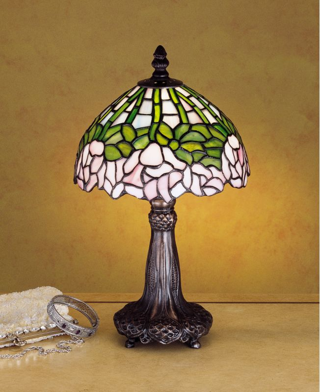 Meyda Tiffany 30312 Stained Glass / Tiffany Accent Table Lamp from the