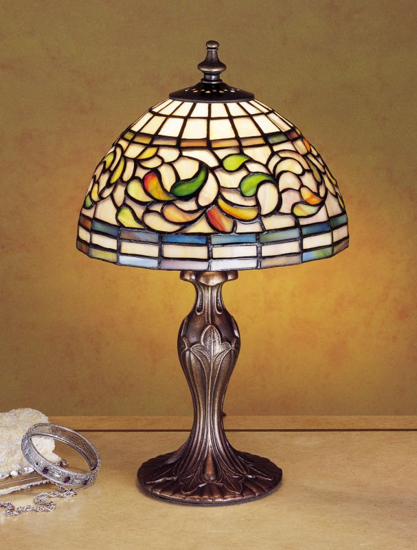 Meyda Tiffany 30314 Stained Glass / Tiffany Accent Table Lamp from the