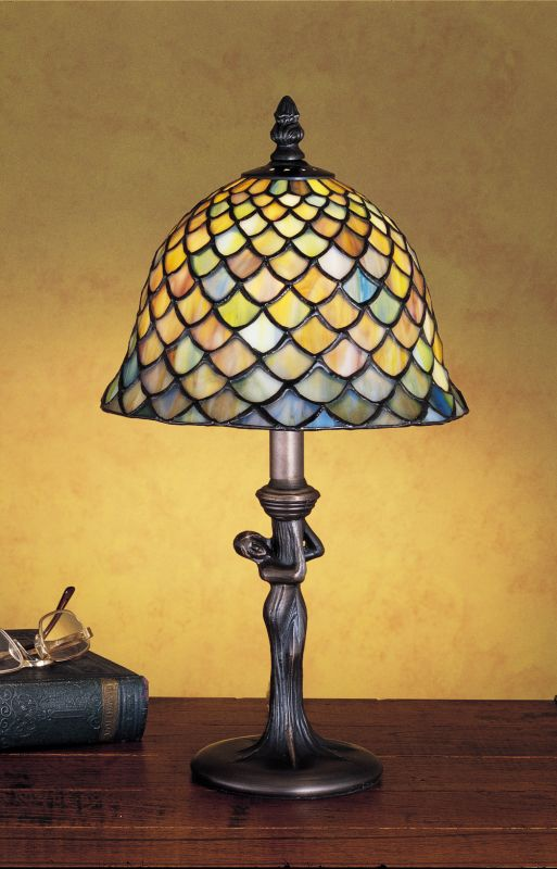 Meyda Tiffany 30315 Stained Glass / Tiffany Accent Table Lamp from the