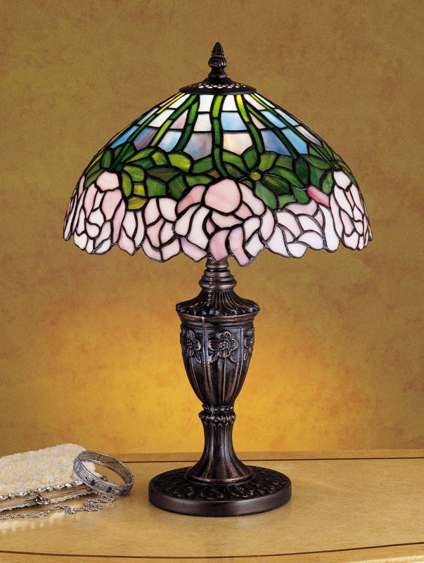 Meyda Tiffany 30343 Stained Glass / Tiffany Accent Table Lamp from the