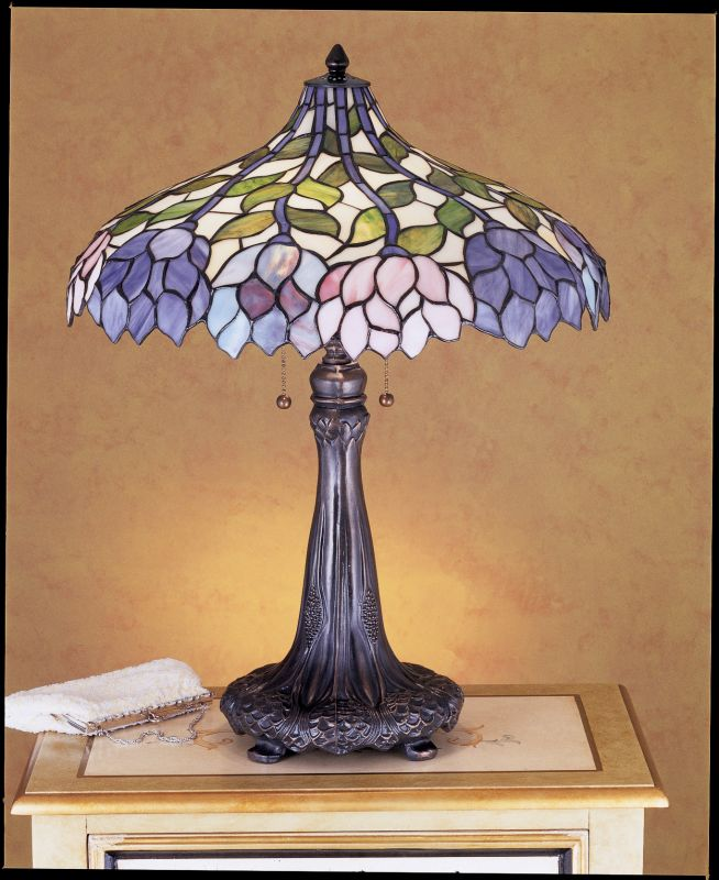 Meyda Tiffany 30452 Stained Glass / Tiffany Table Lamp from the