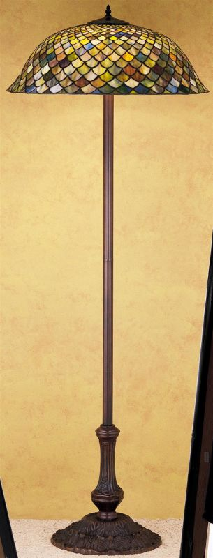 Meyda Tiffany 30456 Stained Glass / Tiffany Floor Lamp from the