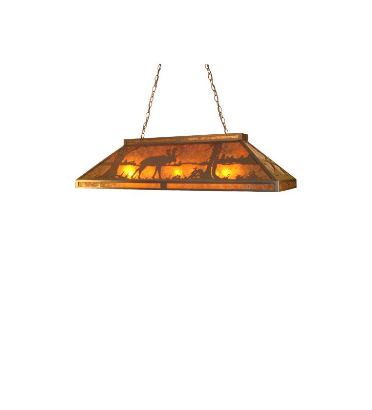 Meyda Tiffany 30488 Nine Light Island / Billiard Fixture Wrought Iron