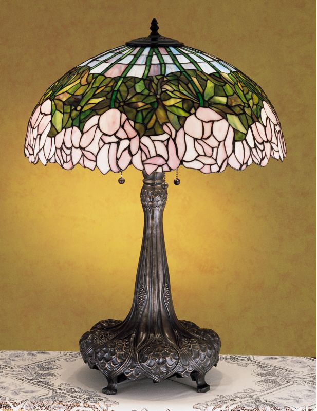 Meyda Tiffany 30513 Stained Glass / Tiffany Table Lamp from the