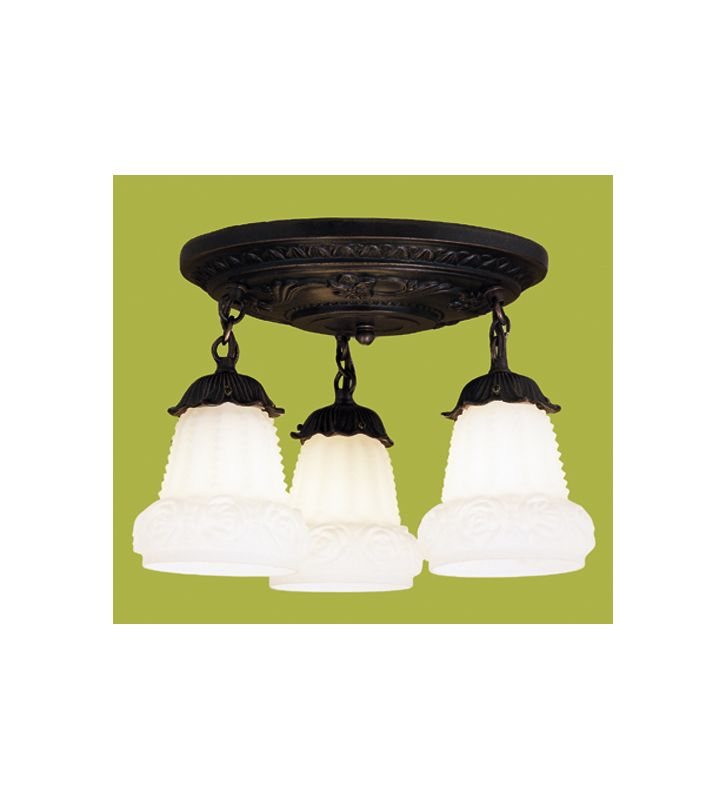 Meyda Tiffany 30543 Multi Light Pendant Fixture from the White Puffy