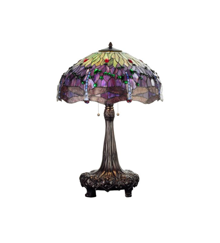 Meyda Tiffany 31112 Stained Glass / Tiffany Table Lamp from the