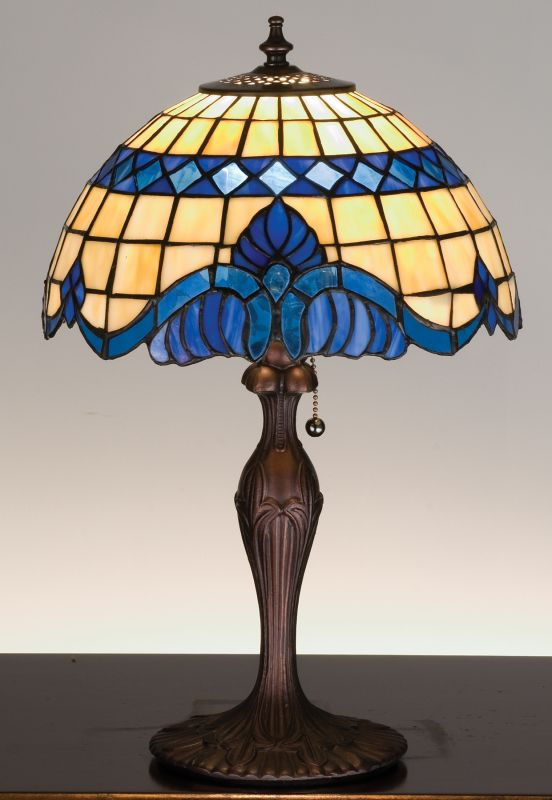 Meyda Tiffany 31201 Stained Glass / Tiffany Accent Table Lamp from the Sale $212.40 ITEM: bci66472 ID#:31201 UPC: 705696312016 :