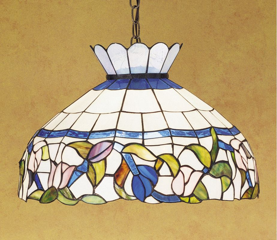 Meyda Tiffany 31255 Stained Glass / Tiffany Down Lighting Pendant from