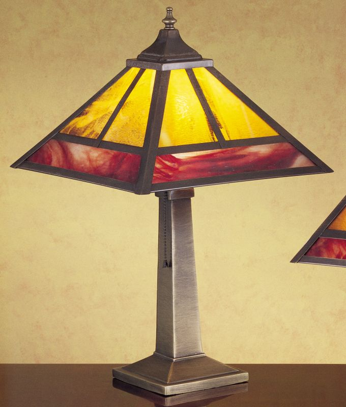Meyda Tiffany 31282 Stained Glass / Tiffany Table Lamp from the