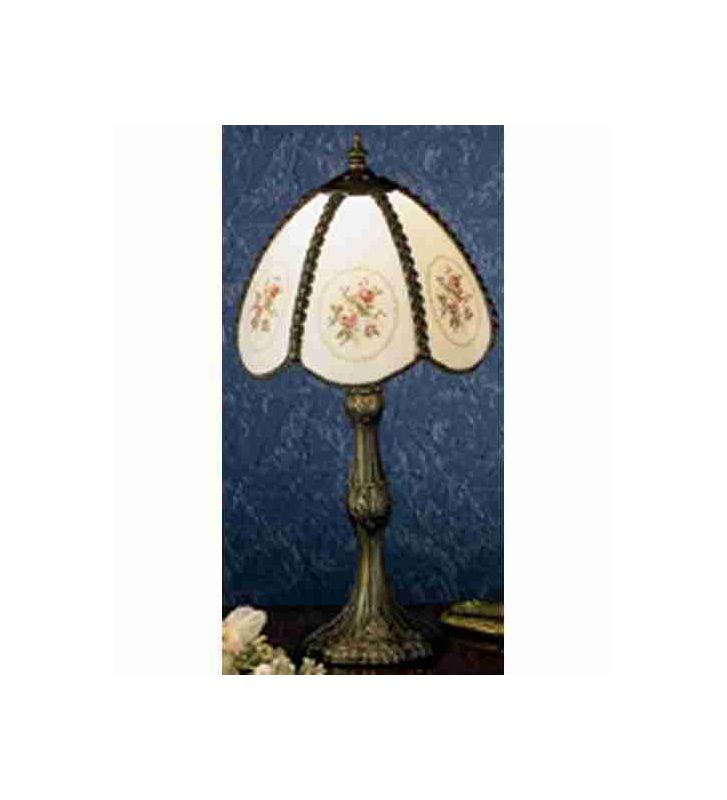 Meyda Tiffany 31308 Accent Table Lamp from the Roses Bouquet