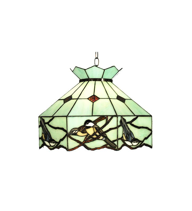 Meyda Tiffany 31420 Tiffany Single Light Backyard Friends Pendant