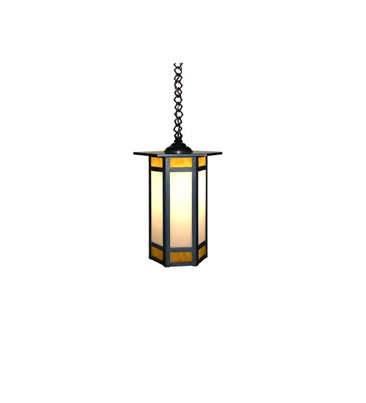 Meyda Tiffany 31547 Single Light Down Lighting Pendant Craftsman
