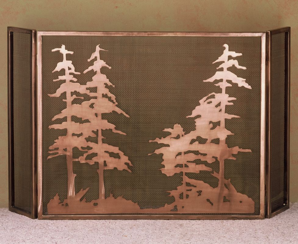 Meyda Tiffany 32281 Fireplace Screen from the Old Forge Firescreen