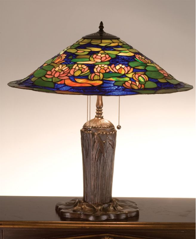 Meyda Tiffany 32300 Stained Glass / Tiffany Table Lamp from the Pond Sale $786.60 ITEM: bci67557 ID#:32300 UPC: 705696323005 :