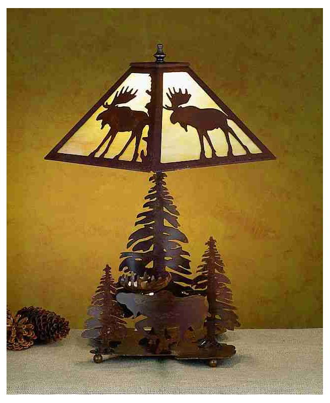 Meyda Tiffany 32524 Lamps Table Lamps Table Lamps from the Moose