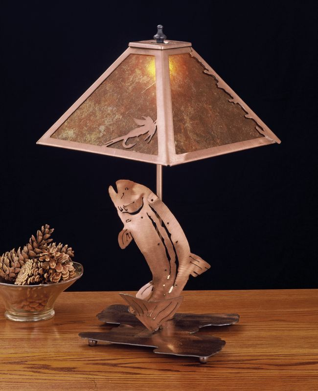 Meyda Tiffany 32532 Table Lamp from the Fish Du Jour Collection Sale $446.60 ITEM: bci256605 ID#:32532 UPC: 705696325320 :