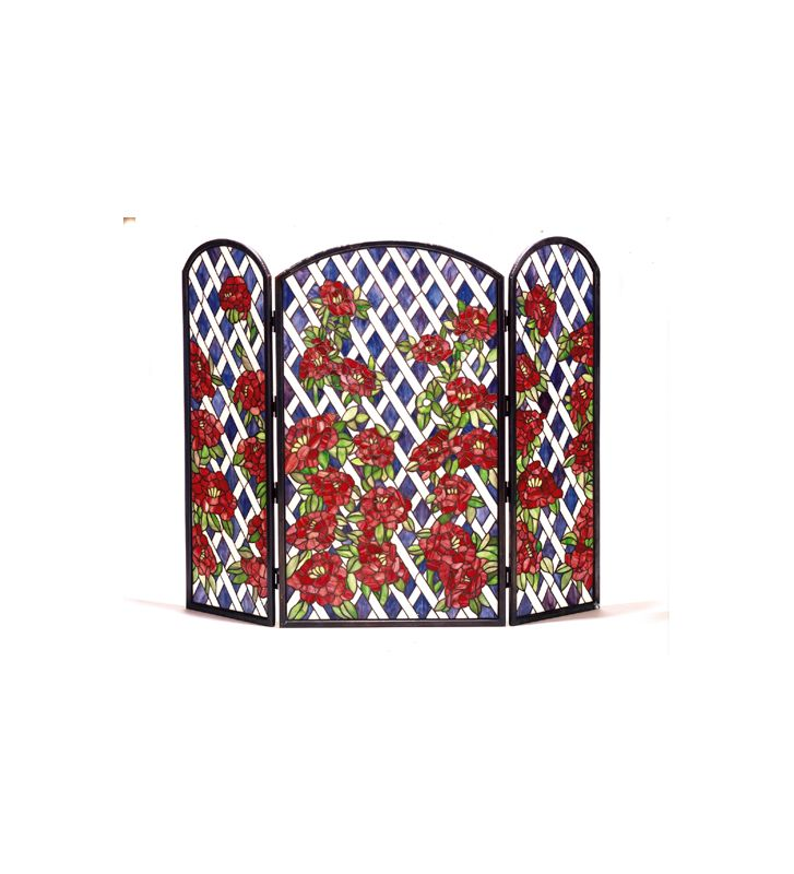 Meyda Tiffany 35744 Fireplace Screen Tiffany Home Decor Fire Screens