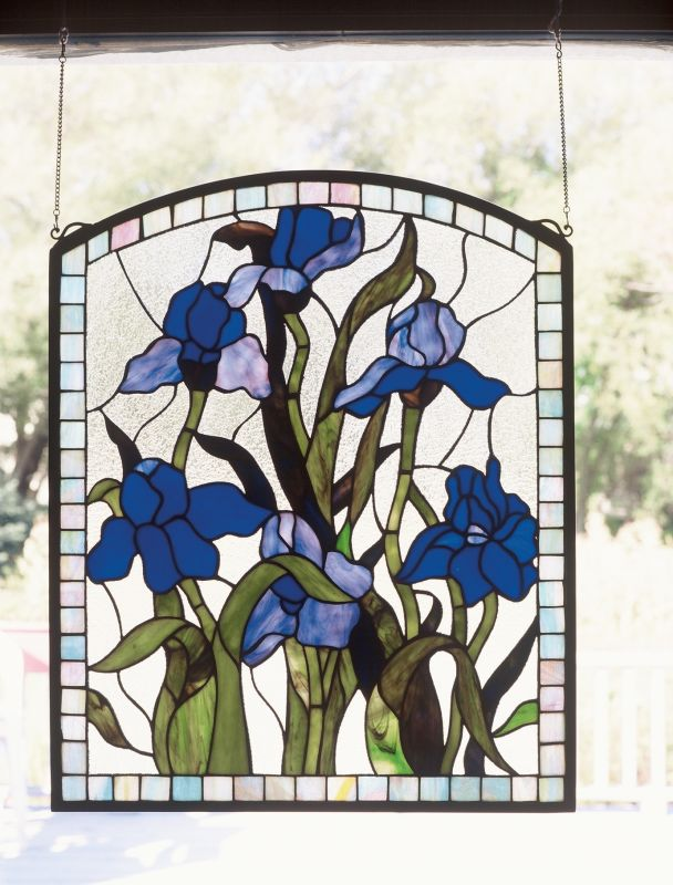 Meyda Tiffany 36074 Stained Glass Tiffany Window from the Window