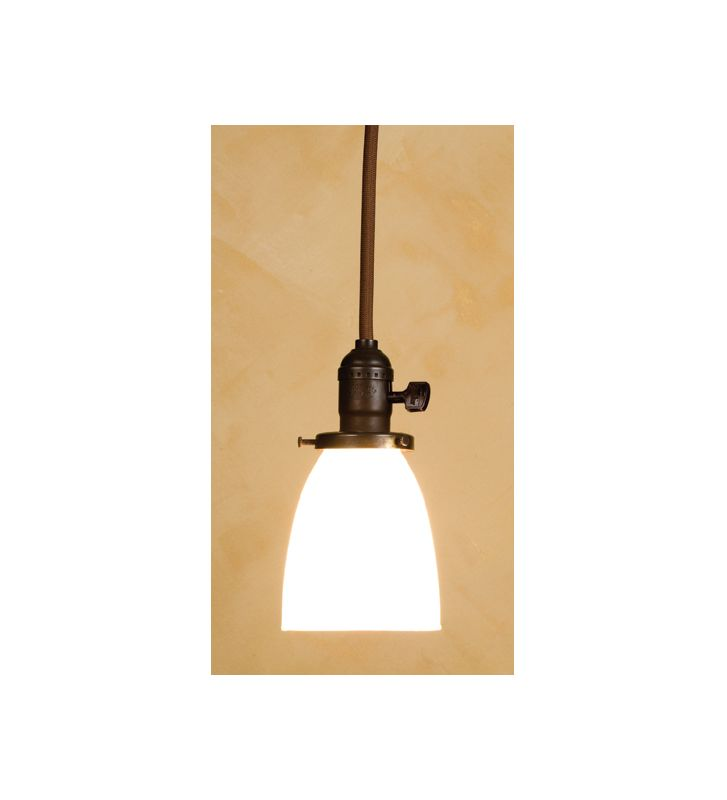 "Meyda Tiffany 37015 Single Light ""Chelsea"" Mini Pendant Craftsman"
