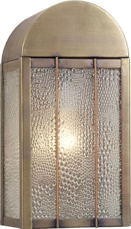 "Meyda Tiffany 38046 6"" Wide Single Light Wall Sconce Copper Indoor"