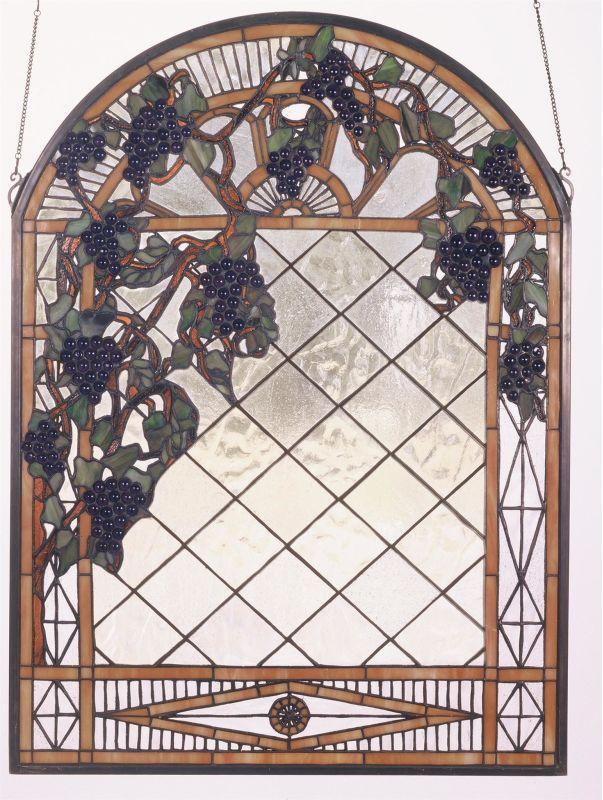 Meyda Tiffany 38327 Stained Glass Tiffany Window from the Jeweled