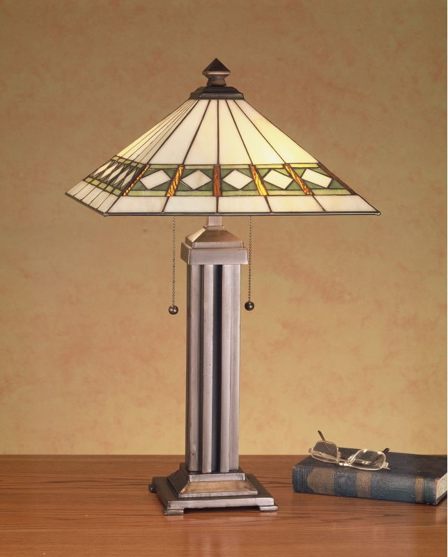 Meyda Tiffany 38689 Craftsman / Mission Table Lamp from the Diamond Sale $374.40 ITEM: bci72624 ID#:38689 UPC: 705696386895 :