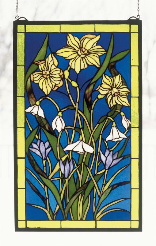 Meyda Tiffany 38738 Stained Glass Tiffany Window from the Window