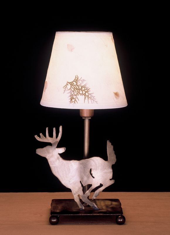 Meyda Tiffany 38771 Accent Table Lamp from the Elks Club Collection