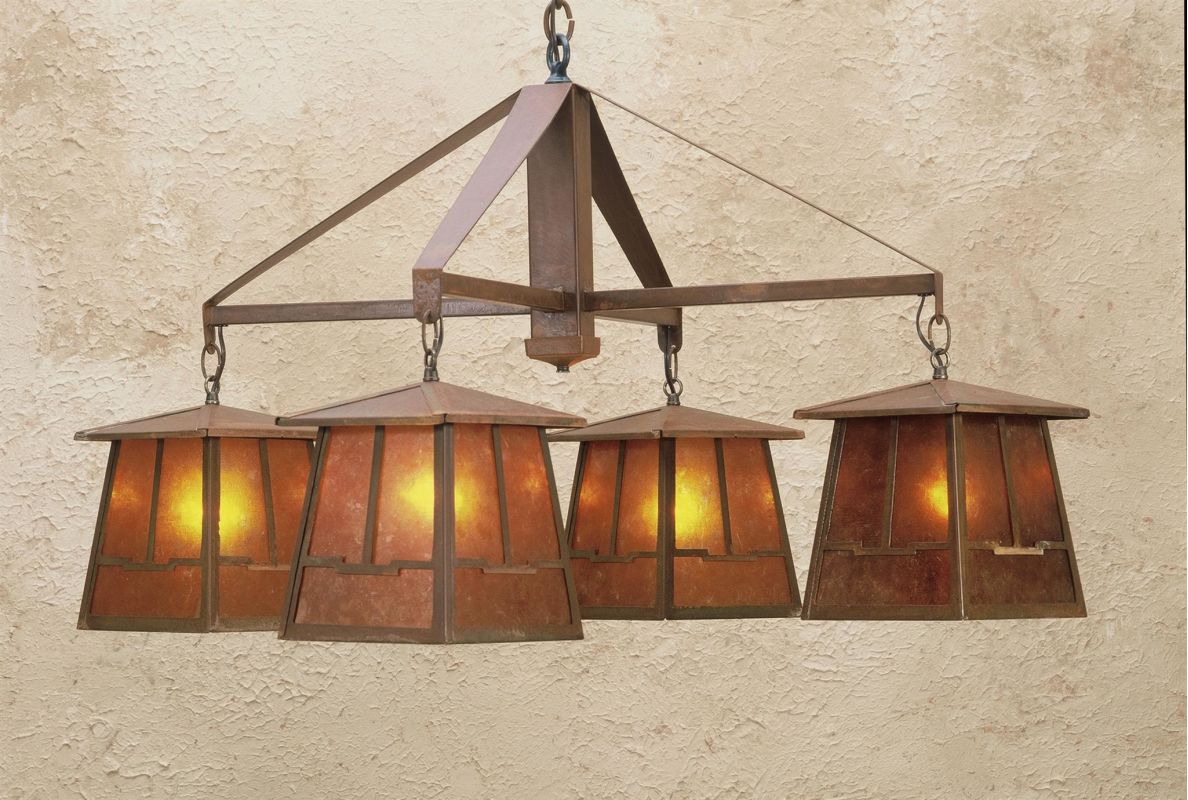 Meyda Tiffany 47703 Craftsman / Mission 4 Light Down Lighting Sale $2129.60 ITEM: bci81566 ID#:47703 UPC: 705696477036 :