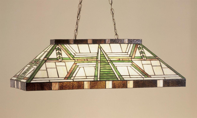 Meyda Tiffany 47975 Stained Glass / Tiffany Island / Billiard Fixture