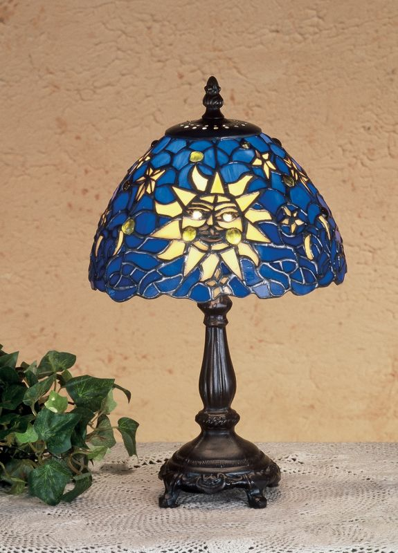 Meyda Tiffany 47982 Stained Glass / Tiffany Accent Table Lamp from the