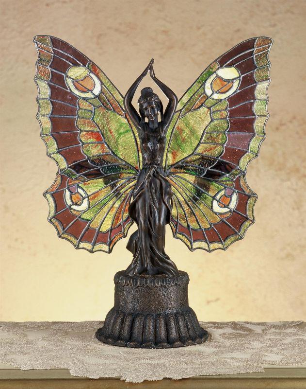 Meyda Tiffany 48018 Tiffany Two Light Specialty Accent Table Lamp