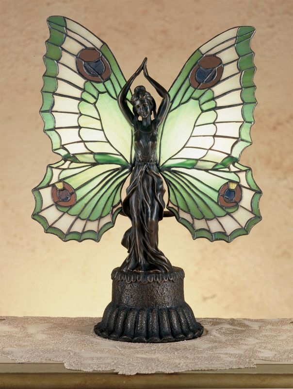 Meyda Tiffany 48019 Stained Glass / Tiffany Specialty Lamp from the