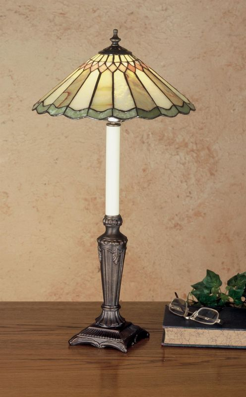 Meyda Tiffany 48384 Stained Glass / Tiffany Buffet Lamp from the