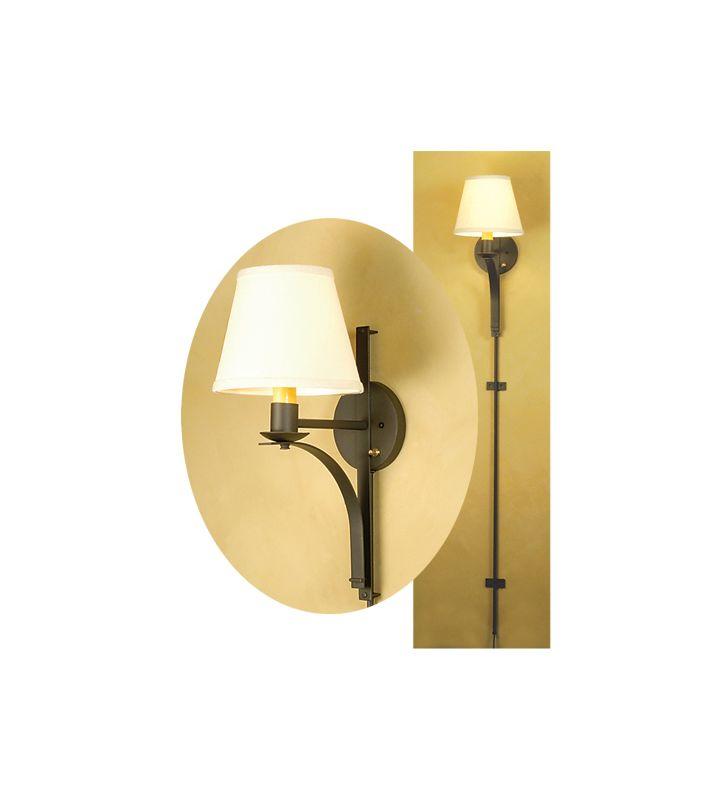"""Meyda Tiffany 48555 8"""" Wide Single Light Wall Sconce Indoor"""