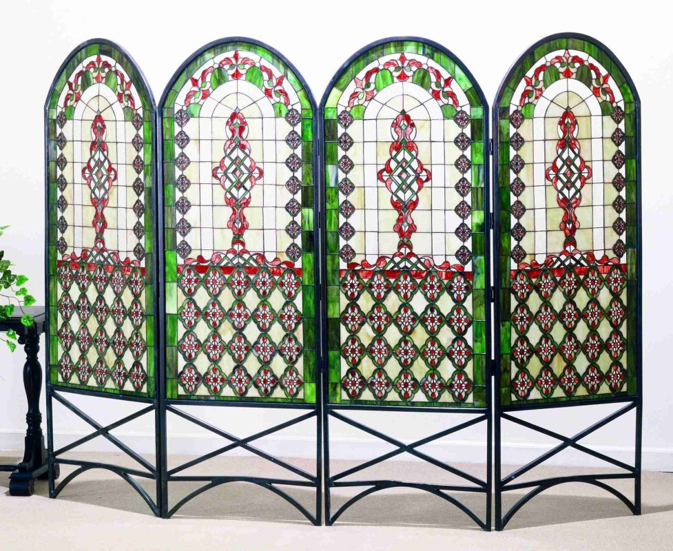 Meyda Tiffany 48808 Fireplace Screen Tiffany Accessory Screen Sale $2673.00 ITEM: bci520932 ID#:48808 UPC: 705696488087 :