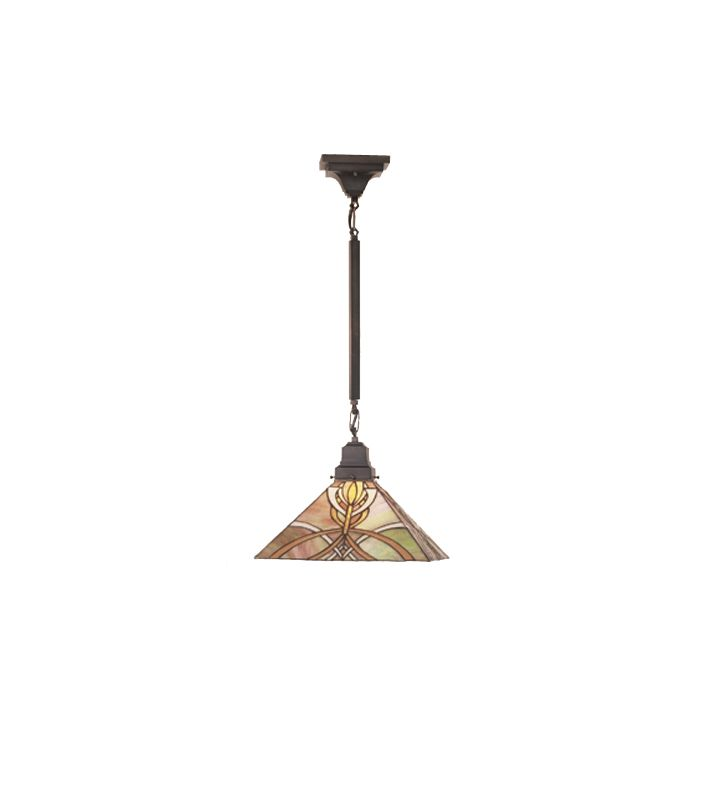 Meyda Tiffany 49147 Stained Glass / Tiffany Down Lighting Pendant from Sale $320.40 ITEM: bci82417 ID#:49147 UPC: 705696491476 :