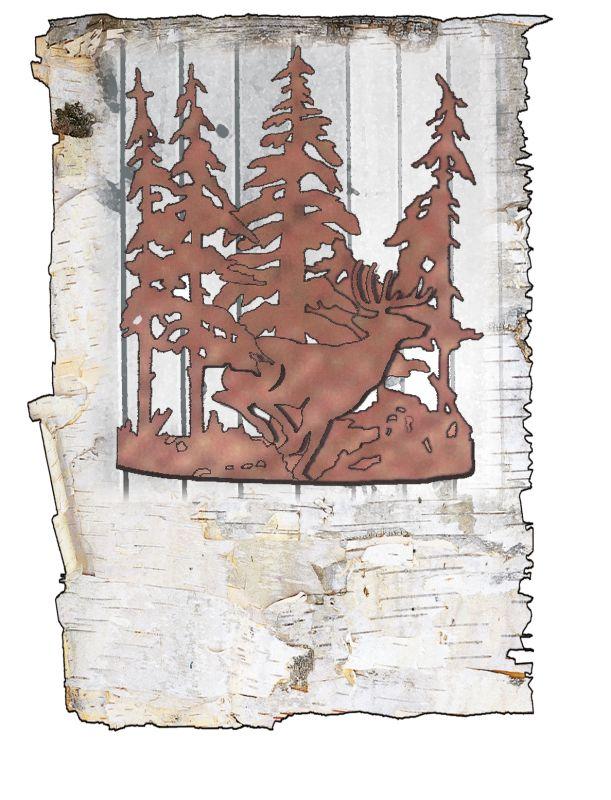 """Meyda Tiffany 49253 Elks Club 11"""" Wide Single Light Wall Washer"""