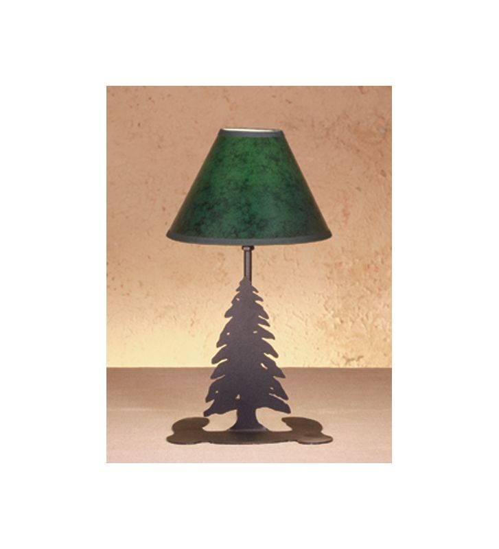 Meyda Tiffany 49810 Accent Table Lamp from the Pine Tree Collection