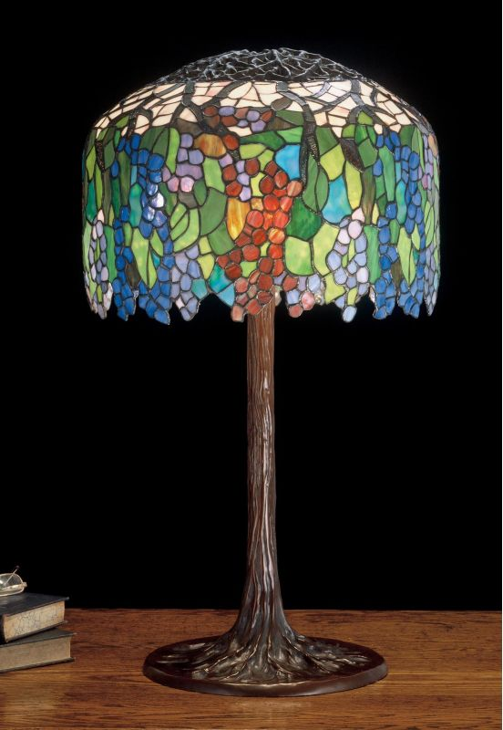 Meyda Tiffany 49866 Stained Glass / Tiffany Table Lamp from the