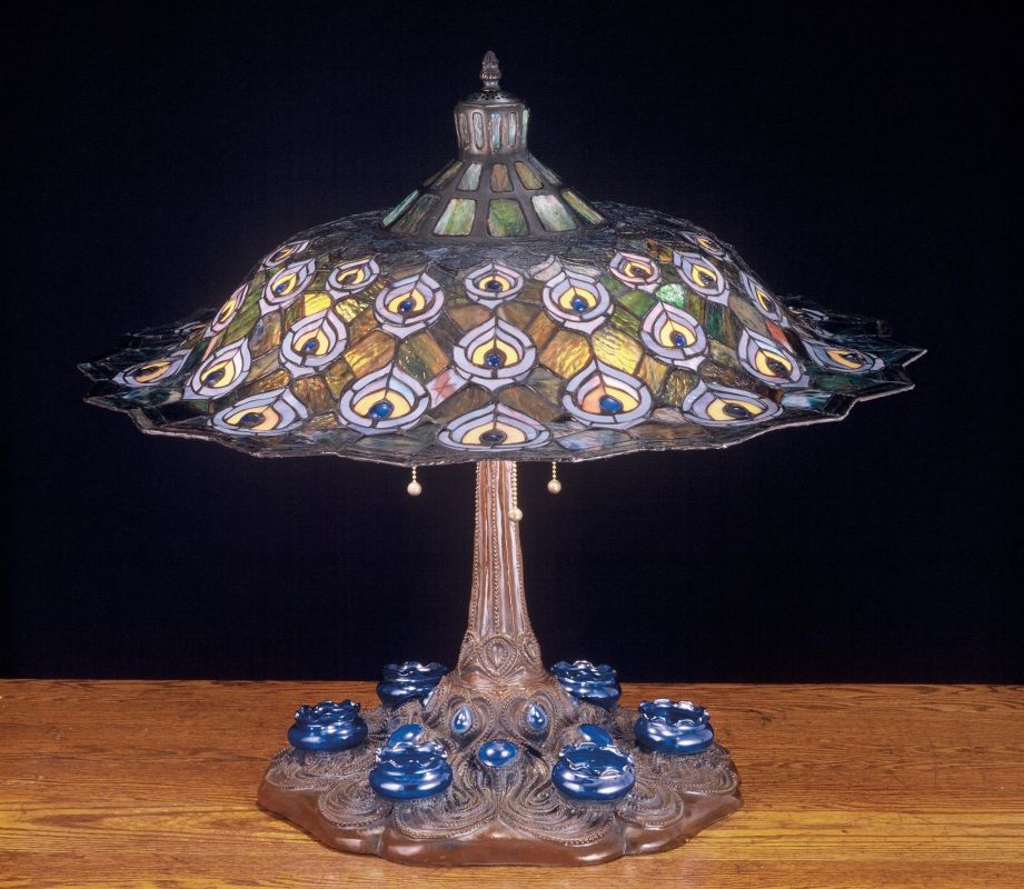 Meyda Tiffany 49869 Stained Glass / Tiffany Accent Table Lamp from the