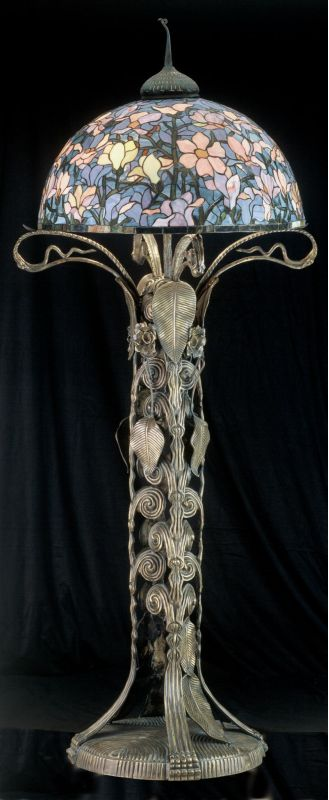 Meyda Tiffany 49874 Stained Glass / Tiffany Floor Lamp from the