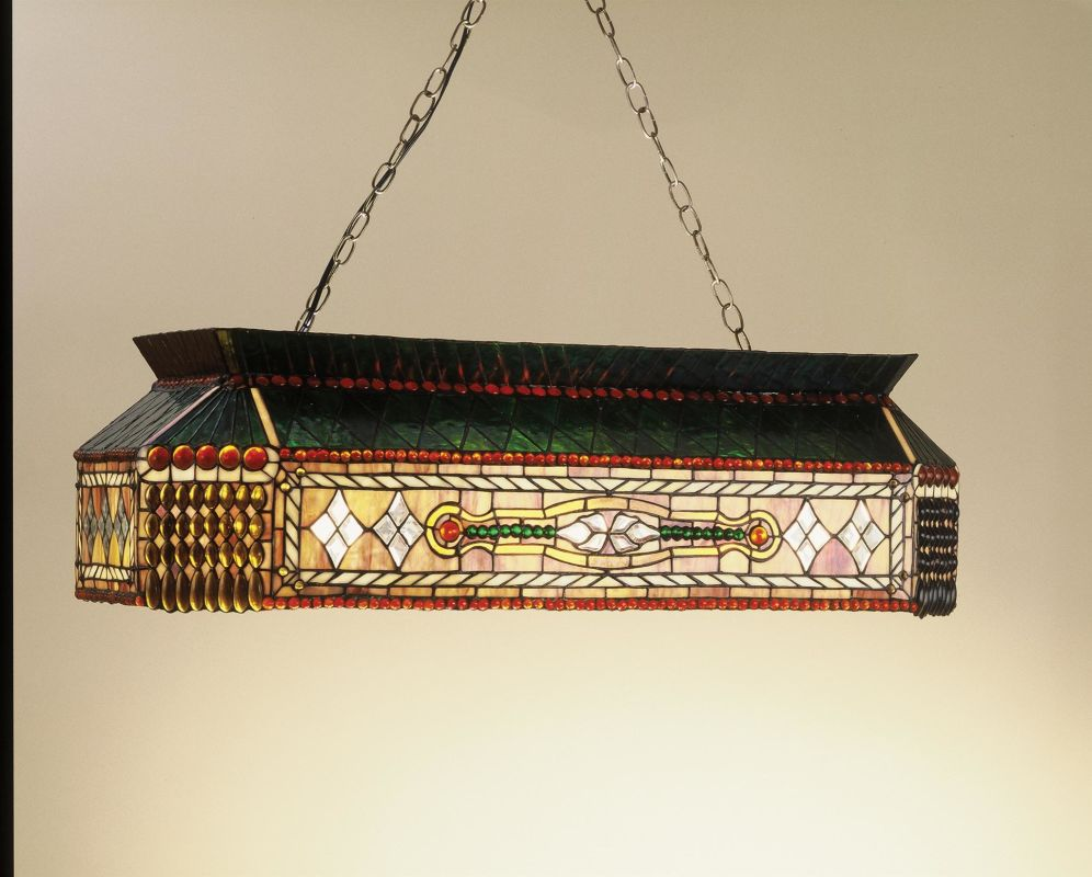 Meyda Tiffany 50159 Stained Glass / Tiffany Island / Billiard Fixture Sale $2656.80 ITEM: bci263512 ID#:50159 UPC: 705696501595 :