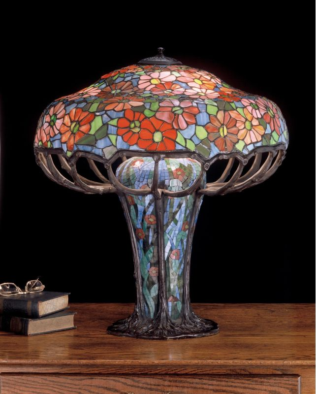 Meyda Tiffany 50352 Stained Glass / Tiffany Table Lamp from the