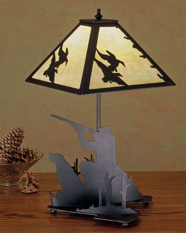 Meyda Tiffany 50400 Accent Table Lamp from the Ducks in Flight
