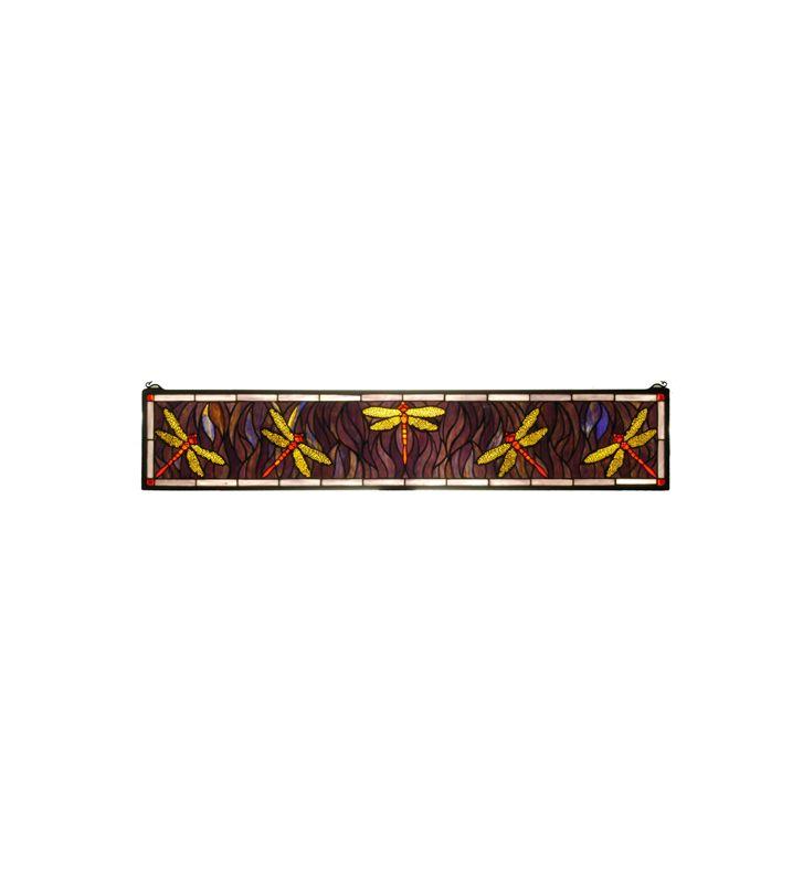 Meyda Tiffany 50531 Tiffany Stained Glass Rectangular Window Pane from Sale $1359.00 ITEM: bci876648 ID#:50531 UPC: 705696505319 :